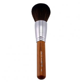 Large powder brush 101 (Brown Wood 101 - Powder/Bronzing Brush - Taklon)